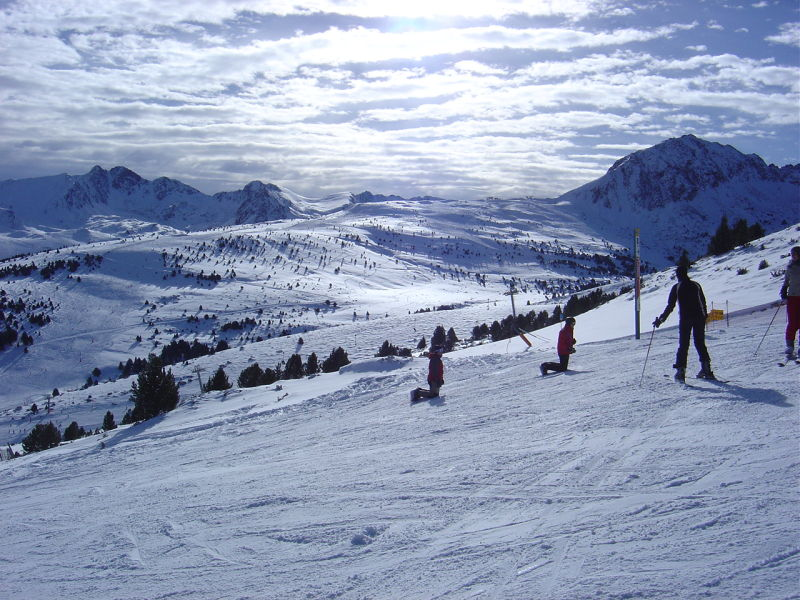 Esquí en Grand Valira (Andorra)