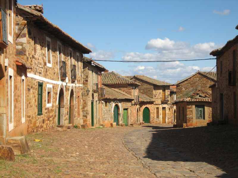 Pueblo leonés
