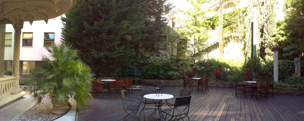 Jardín Palacio Longoria