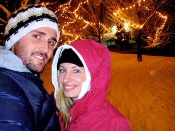 Blackcomb, whistler.... freezing with my husband!
