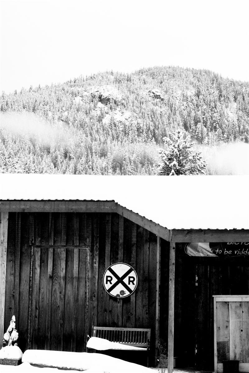 Winter, Whistler, building, snow