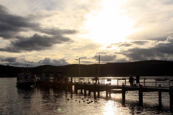 Afternoon wharf