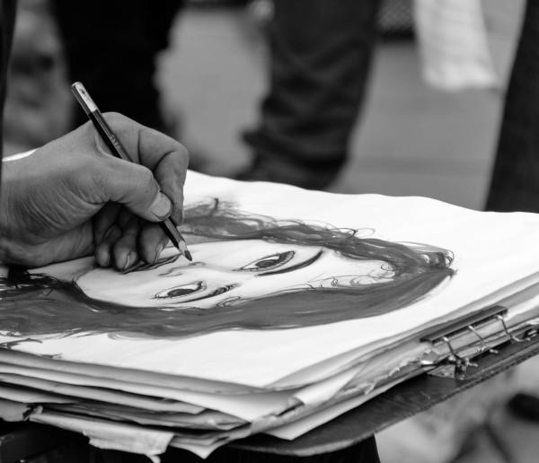 Hand of an Artist