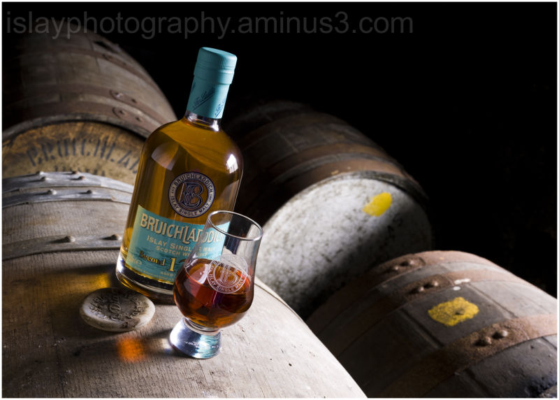 Bruichladdich 12 yr old whisky and dram