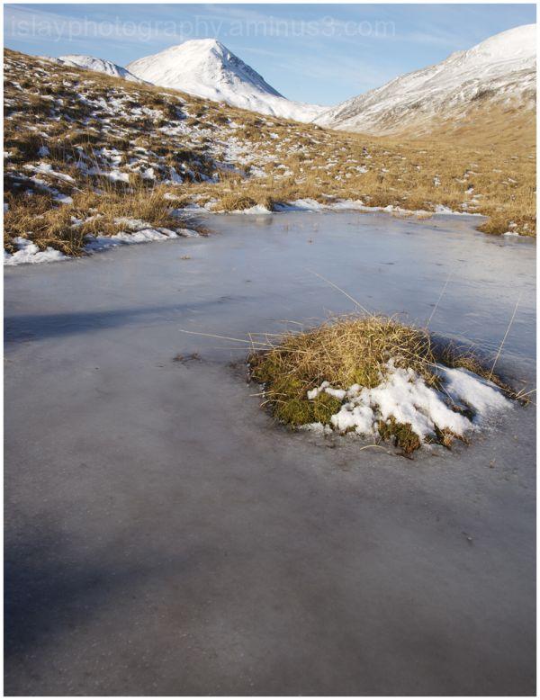 Frozen Lochan, Isle of Jura
