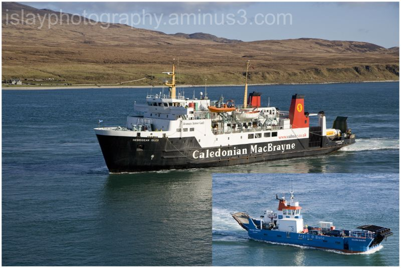Hebridean Isles arriving at Port Askaig