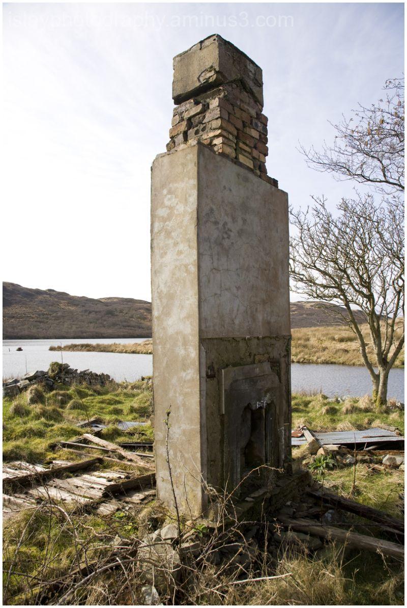 Redundant chimney stack