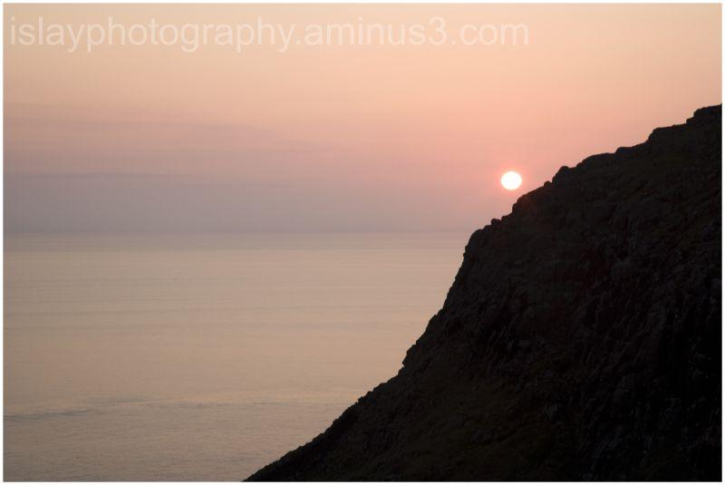 Sunset at Neist Point, Skye