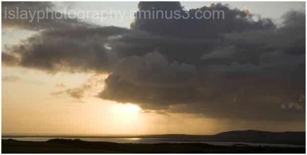 Clouds over Loch Gorm