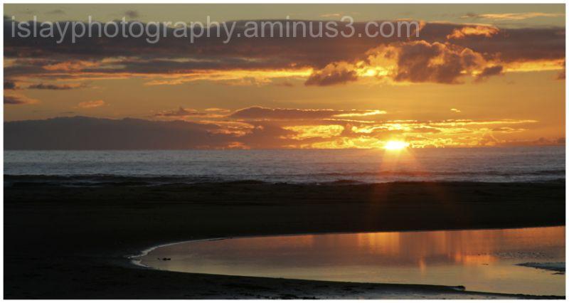 Sunset at Kilchoman