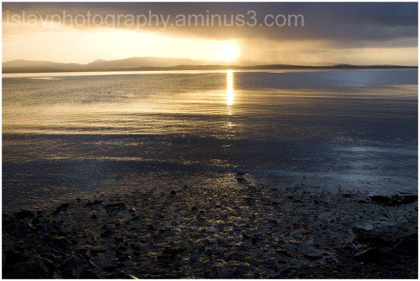 Sun Rising over Bowmore