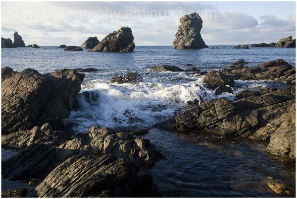 Sea Stacks, The Oa