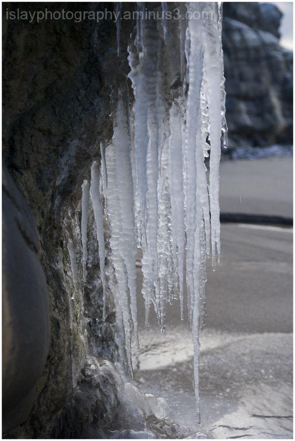 Ice Sculpture at Saligo