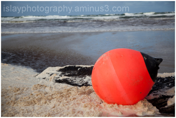 Buoy on a Beach