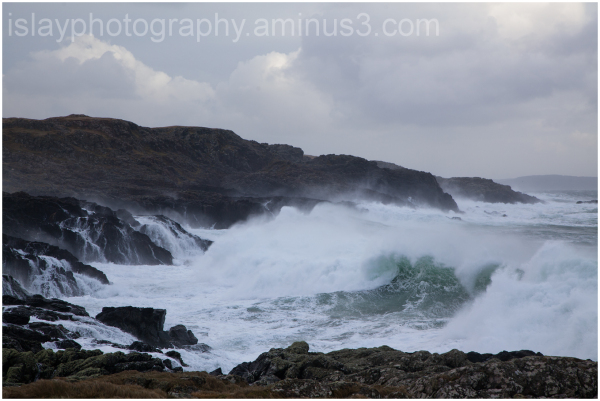 Waves, Port Wemyss