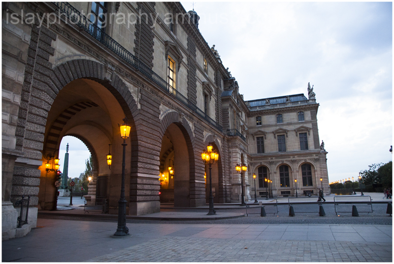 Entrance to the Louvre from the Seine