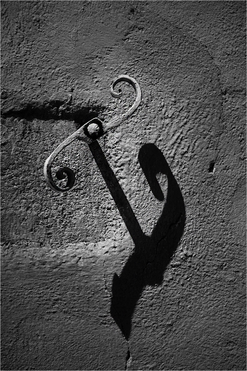 Hook on wall