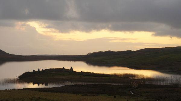 Loch Finlaggan at Dusk