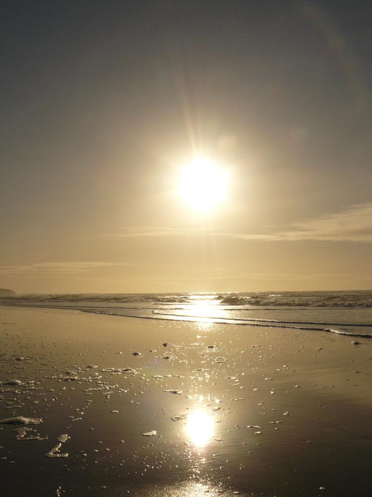 Sun Shining Above Kilchoman