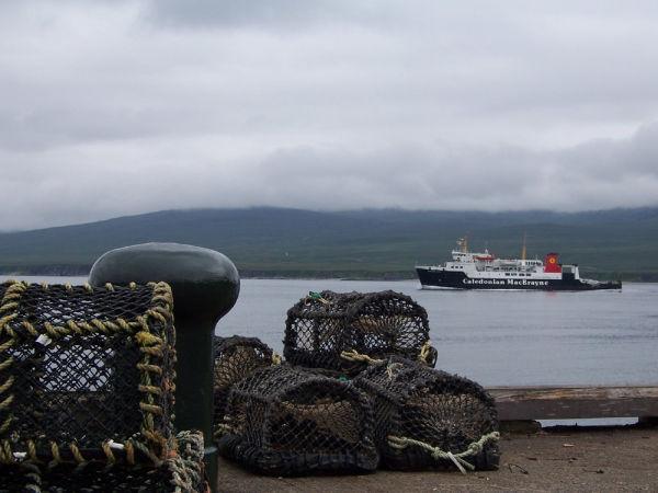 MV Hebridean Isles from Bunnahabhain Pier
