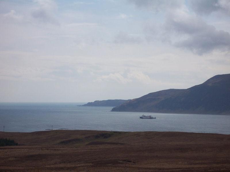 MV Hebridean Isles Sailing Down the Sound of Islay