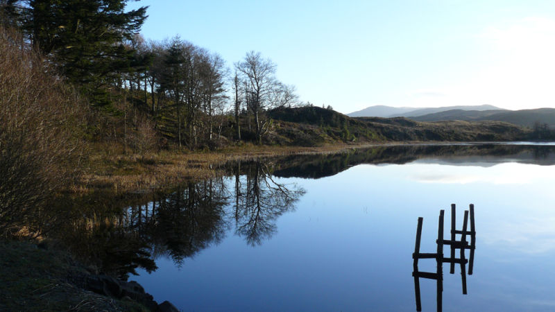 Reflection on the Lily Loch 2