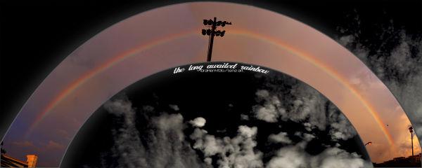 The long awaited rainbow