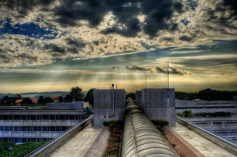 A morning snap of ntu, my uni