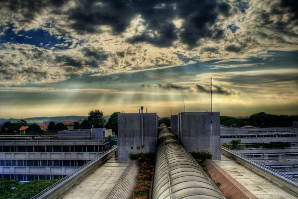 A morning snap of ntu, my uni