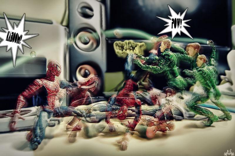 Spidey Versus GreenGoblin