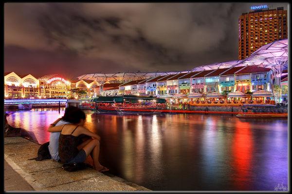 Night Life Boat Quay