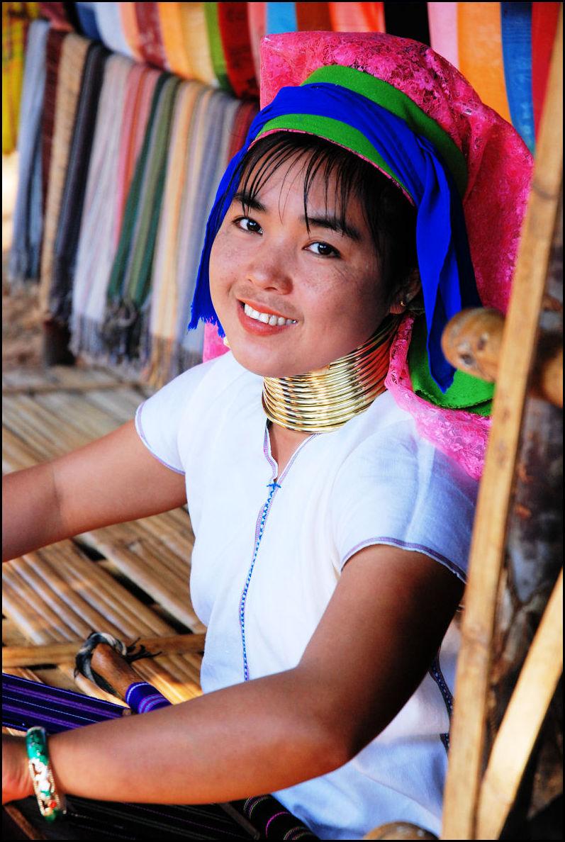 Long neck, Thailand
