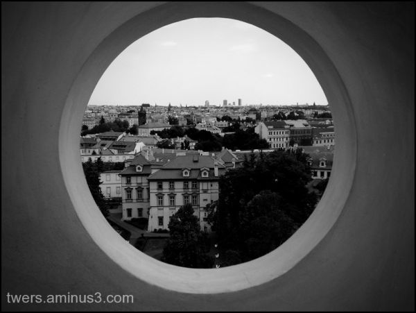 View from the castle in Prague