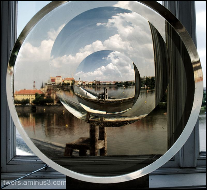 Prague through the looking glass