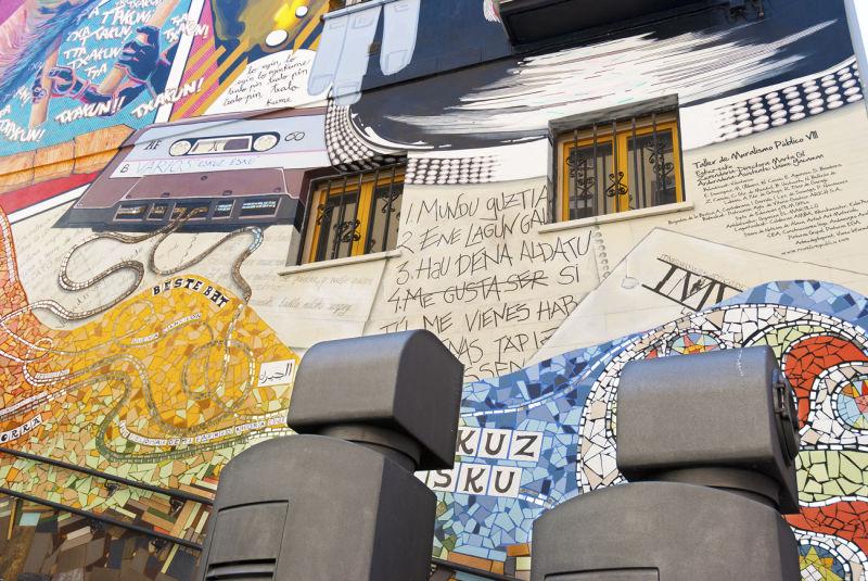 Great graffiti, vitoria, gazteiz