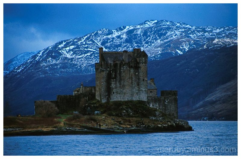 Eilean Donan Castle in Winter