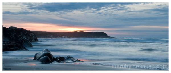 Sunset at Saligo Bay
