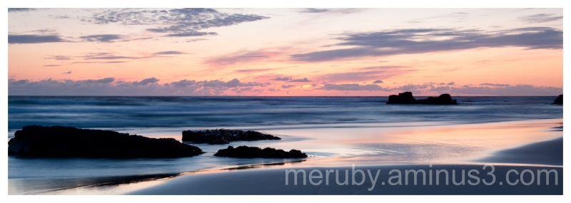 Sunset on Islay Saligo Bay