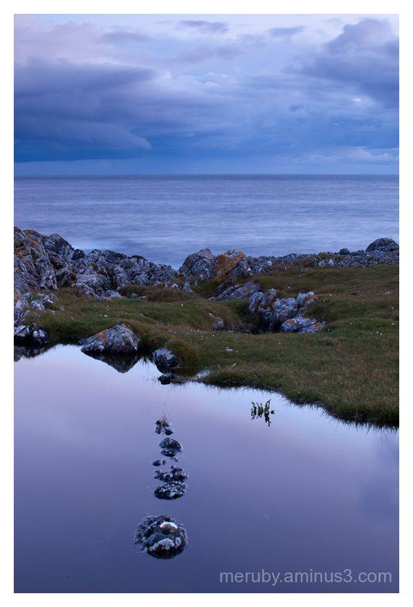 Rocks and sea on Islay