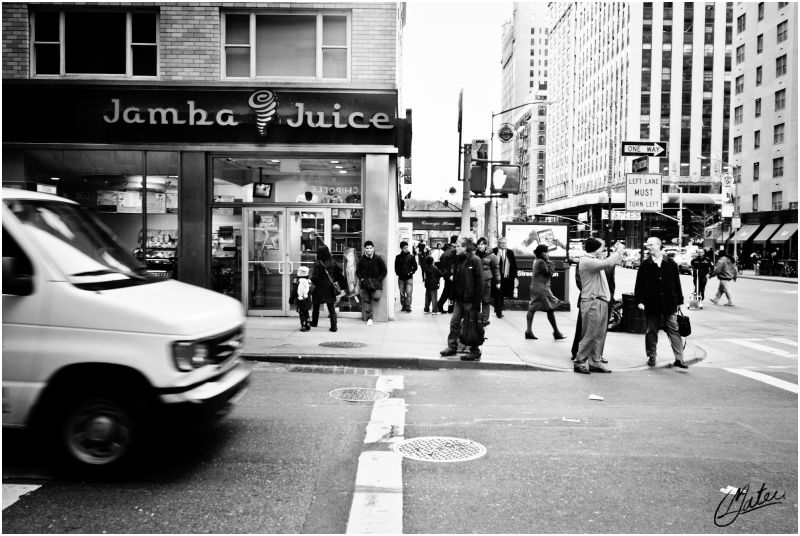 New York Streets LOUIS MATEU