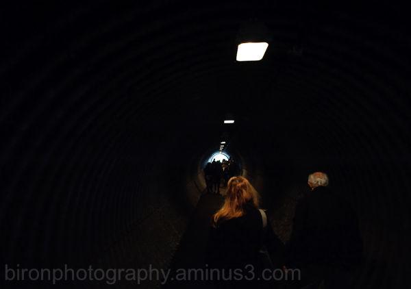 Walking towards the light