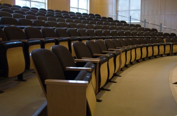 Brandi Recital Hall Seats, Kenyon College