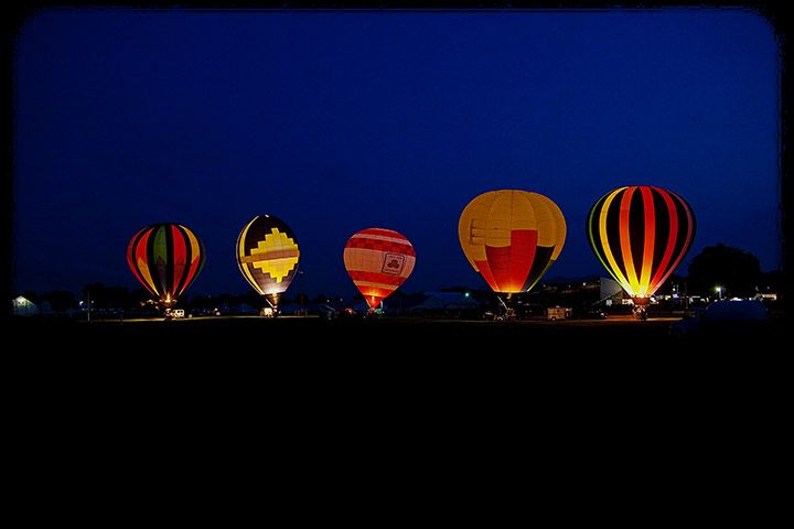 Coshocton Balloon Glow