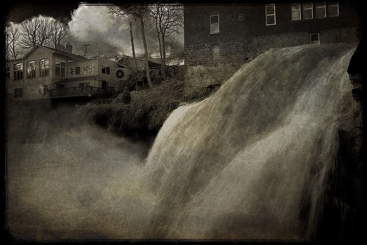 Down the Chagrin Falls