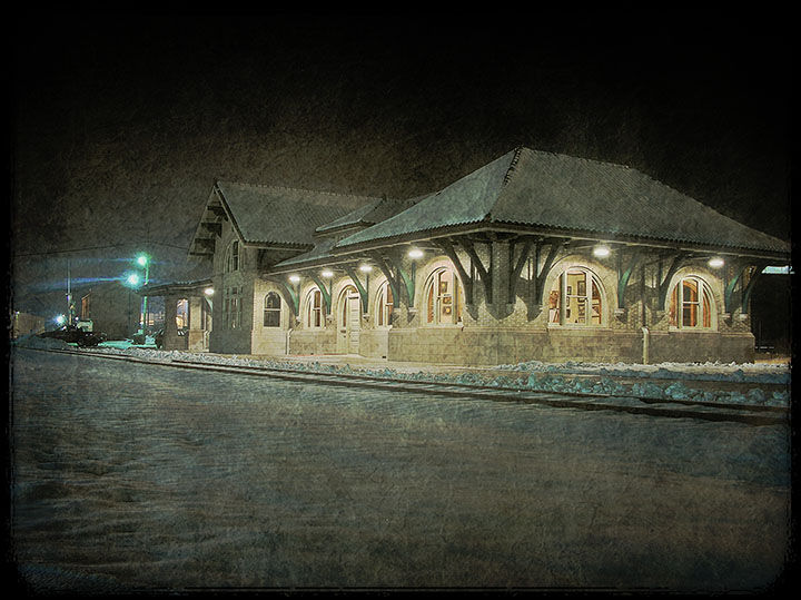 The Mount Vernon B&O Station