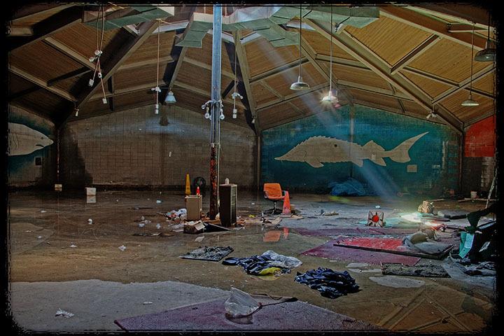 The old Cleveland Aquarium