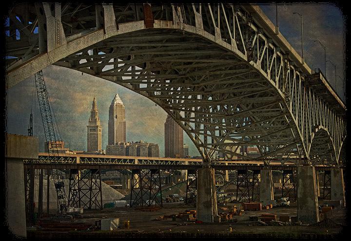 Cleveland Under Bridge