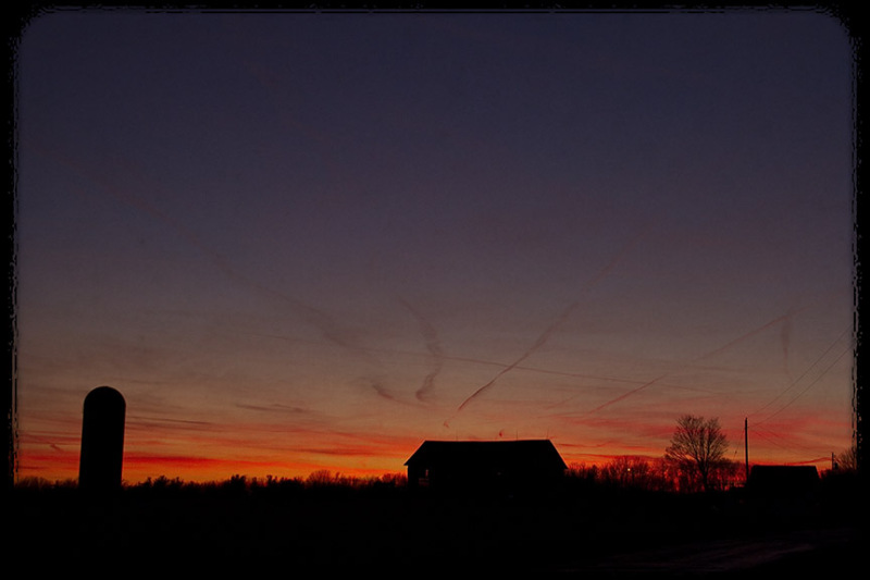 Knox County Sunset