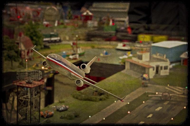 A Model Take off