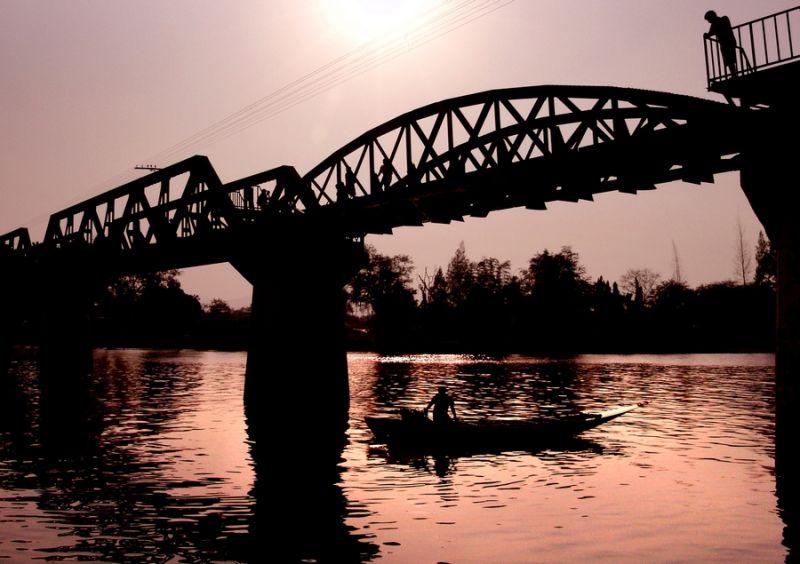 Bridge on the River Kwai.